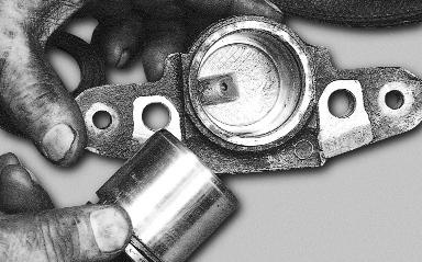Отсоединение тормозного цилиндра