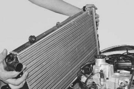 Замена радиатора охлаждения в ваз 2109