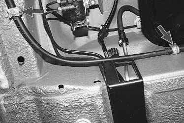 Замена троса ручного тормоза ваз 2110