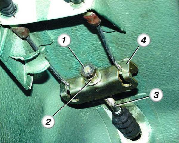 Замена тросов ручника на ваз 2110