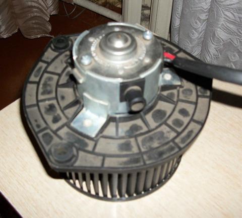 Ваз 2110 замена вентилятора печка