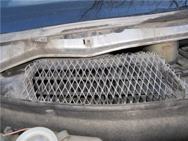 Ваз 2110 замена фильтра салона старого образца – решетка/защита