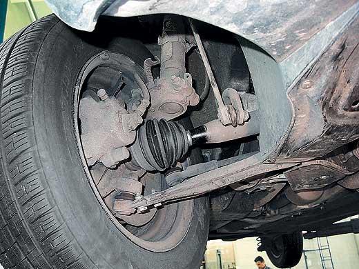 Фото №8 - замена гранаты ВАЗ 2110 своими руками