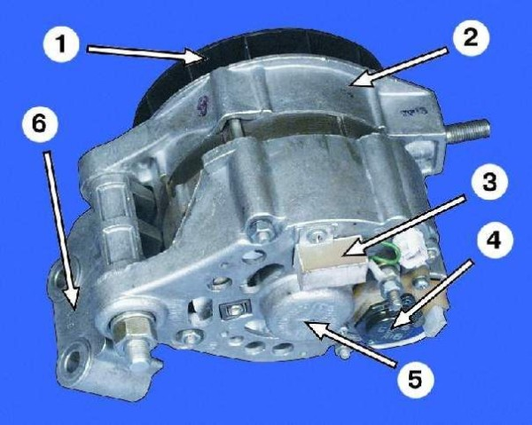 Источник тока автомобиля – генератор
