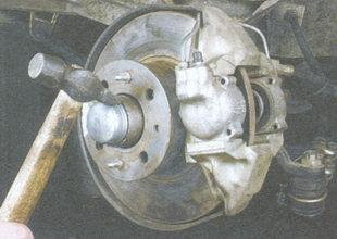 Крепление передней ступицы на ваз 2109