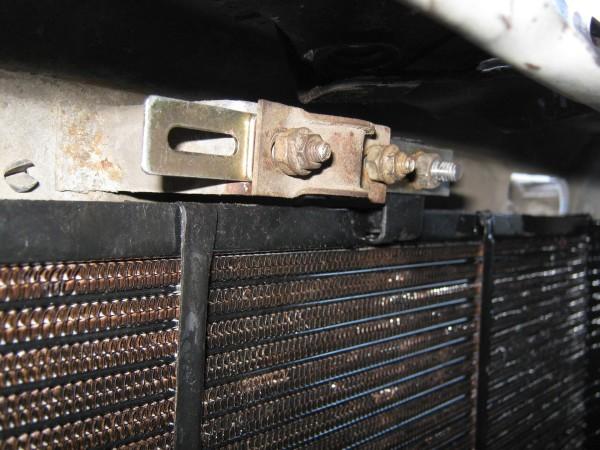 Крепление радиатора на ваз 2109