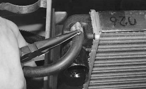 Крепление радиатора в ваз 21093