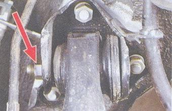 Крепление задних стоек ваз 2109