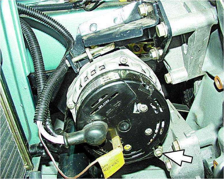 Фото №13 - генератор ВАЗ 2110 выдает маленькое напряжение
