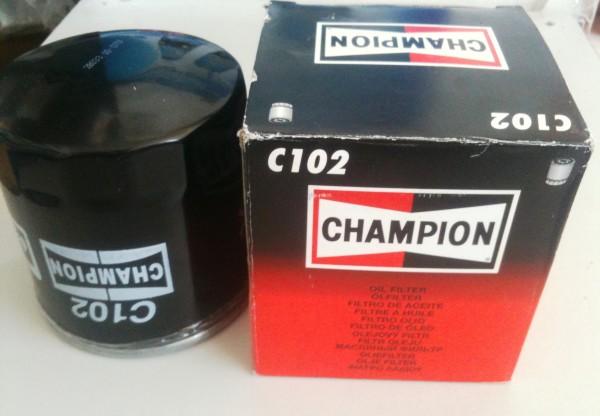Масляный фильтр ваз 21093 Чемпион