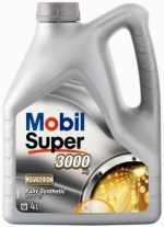 Моторное масло Mobil SUPER 3000 FORMULA- FE 4L