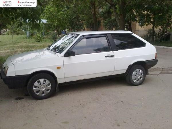 Общий вид авто ВАЗ 2108