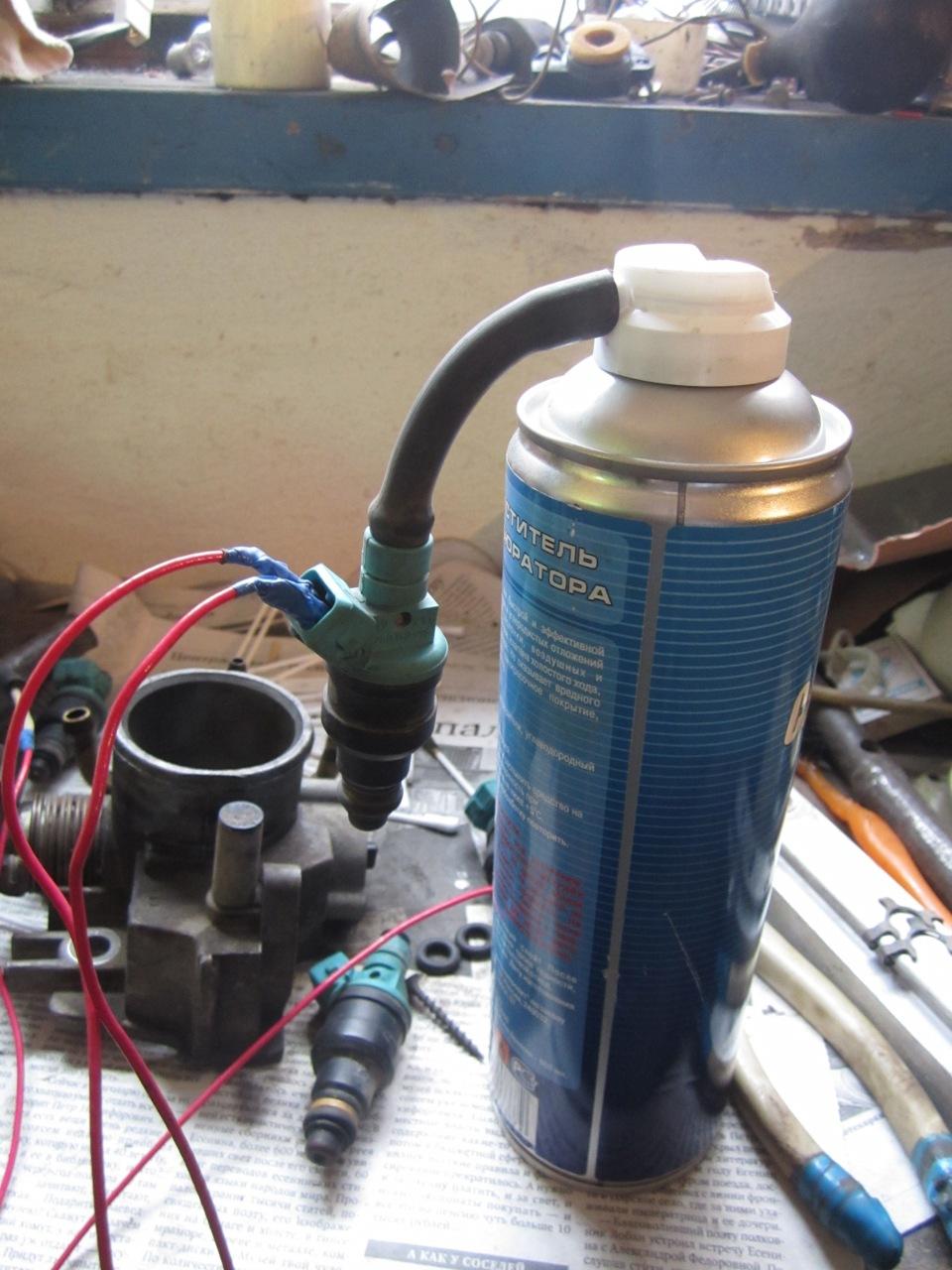 Фото №10 - прочистка форсунок инжектора своими руками ВАЗ 2110
