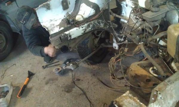 Рамка радиатора и ее ремонт