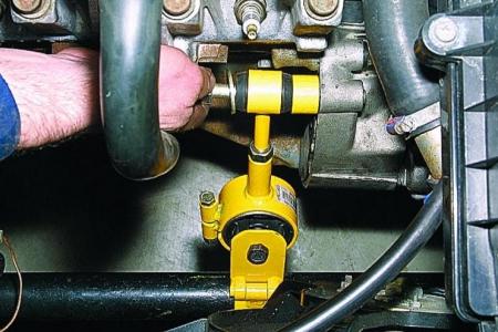 Установка четвертой опоры двигателя ВАЗ 2110