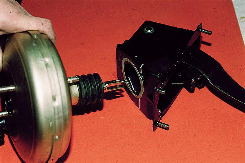 Фото №6 - ВАЗ 2110 вакуумный усилитель неисправности