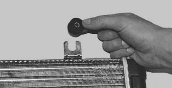 Ваз 2109 крепление радиатора