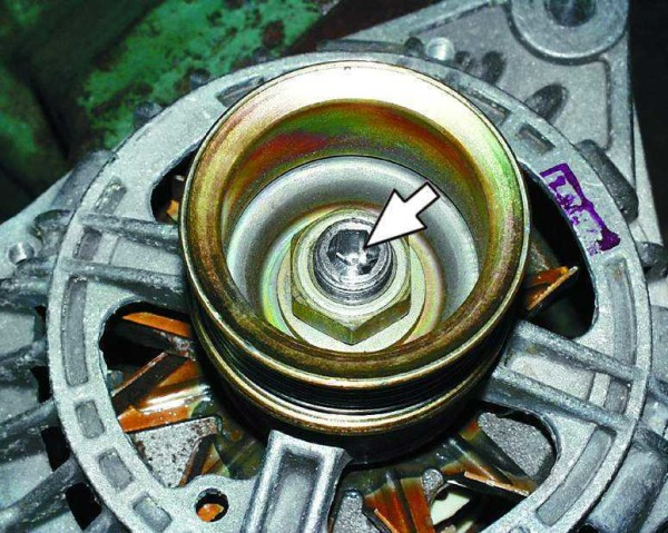 Ваз 2109 шкив генератора