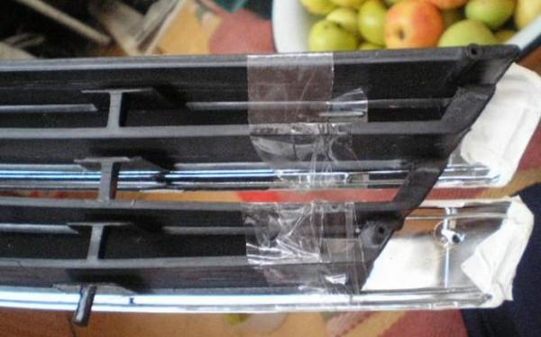 Ваз 21093 решетка радиатора