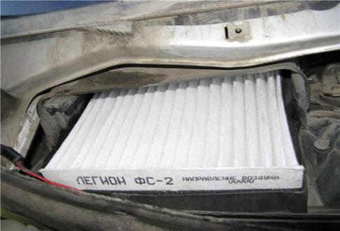 Ваз 2110 фильтр отопителя
