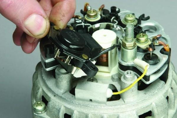 Ваз 2110 генератор напряжения