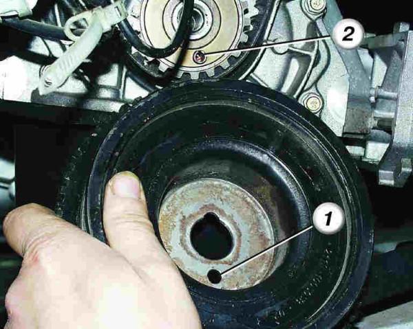 Ваз 2110 в генераторе открутился шкив