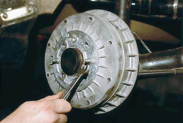 Задний тормозной барабан ваз 2109