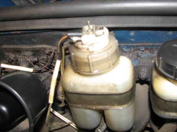 Замена бачка тормозной жидкости ваз 2109