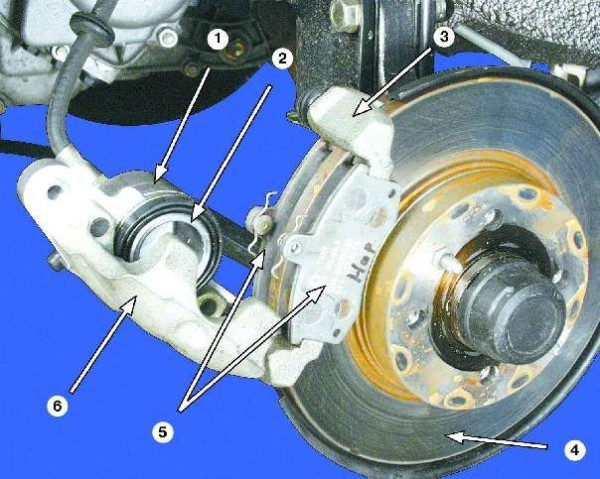 Замена передних тормозных дисков на ваз 2109