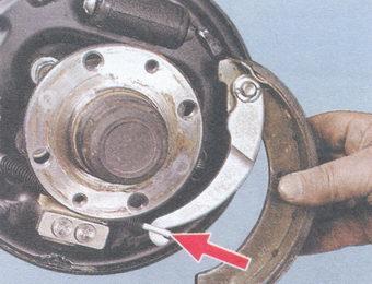 Замена стояночного тормоза на ваз 2109