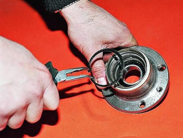 Замена ступицы на ваз 2109 и подшипника