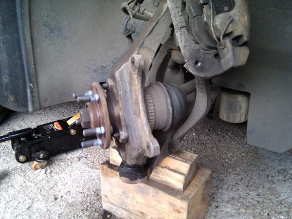 Замена ступицы переднего колеса ваз 2109