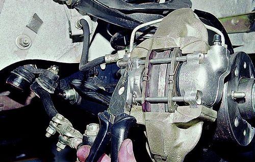 Замена тормозного переднего цилиндра ваз 2109