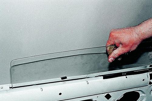 Замена заднего бокового стекла в ваз 2109