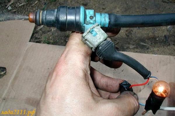 Чистка форсунок инжектора ВАЗ 2109