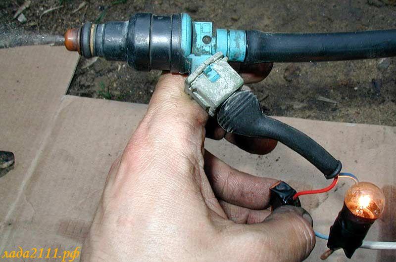 Чистка форсунок инжектора ВАЗ