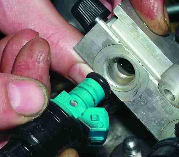 Чистка форсунок Ваз 2110 16 клапанов