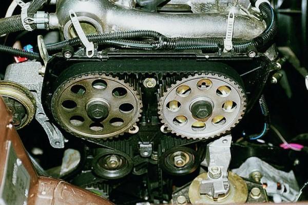 Двигатель Ваз 2110 16 клапанный состоит из газораспределительного механизма