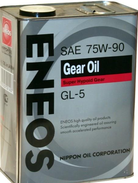 ENEOS 75W-90/GL-5 трансмиссионное масло