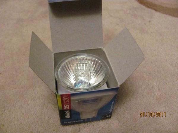 Галогеновая лампа на ваз 2110