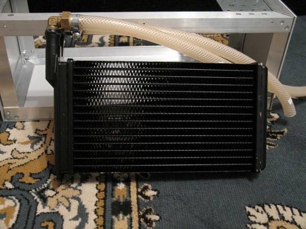 Радиатор печки автомобиля ВАЗ 2109