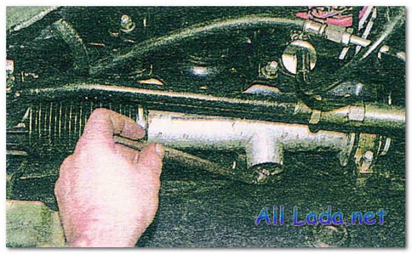 Рулевая рейка автомобиля ВАЗ 2112