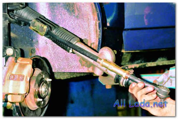 Рулевой механизм автомобиля ВАЗ 2112