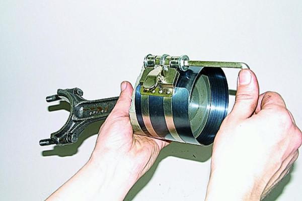 ВАЗ 2107 замена поршнев колец
