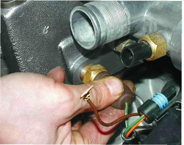 Ваз 2110 инжектор датчики температуры