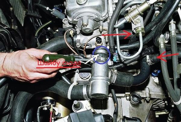 Ваз 2110 инжектор термостат