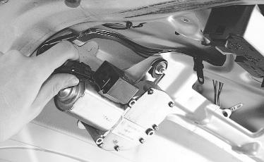 Ваз 2110 снятие моторедуктора