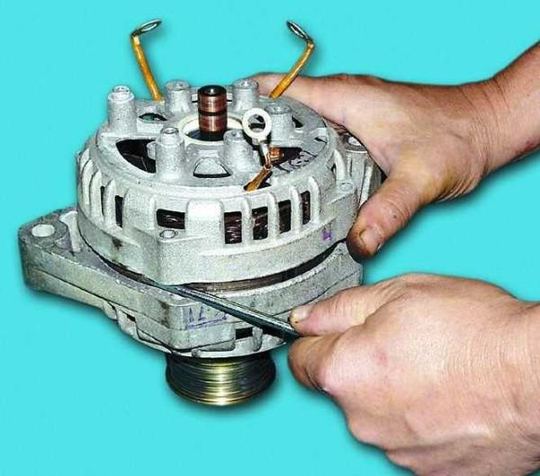 Ваз 2110 замена генератора