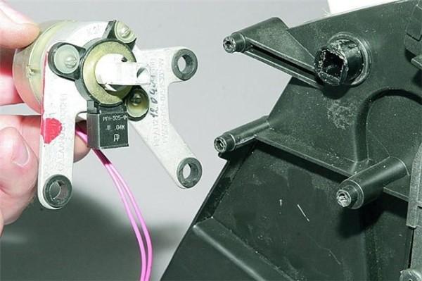 Замена моторедуктора отопителя Ваз 2110