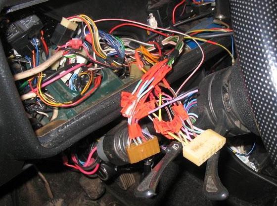 Замена проводки Ваз 2110